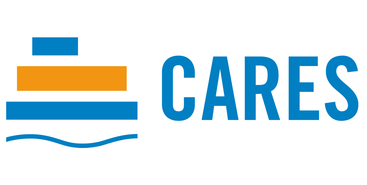 Logo de fundación cares