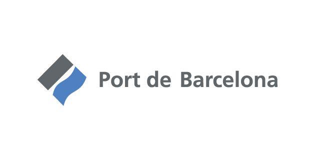 Logo de puerto de Barcelona
